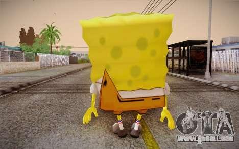 Bob Esponja para GTA San Andreas segunda pantalla