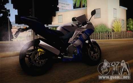 Yamaha YZF R15 para GTA San Andreas left