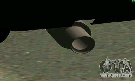 VAZ 2108 Turbo para visión interna GTA San Andreas