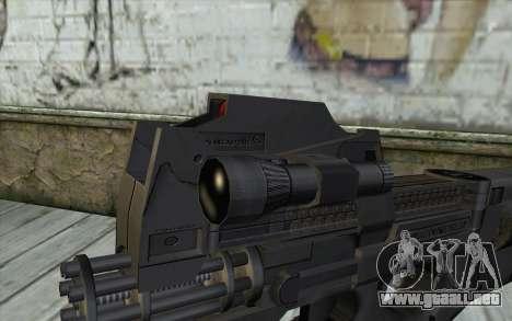 FN P90 MkII para GTA San Andreas tercera pantalla