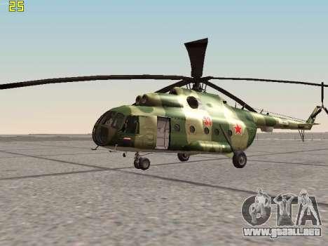 Mi-8T para GTA San Andreas