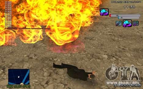 C-HUD Color para GTA San Andreas segunda pantalla