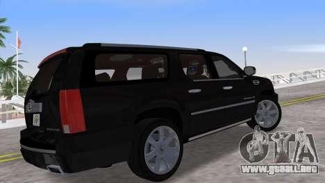 Cadillac Escalade ESV Luxury 2012 para GTA Vice City left