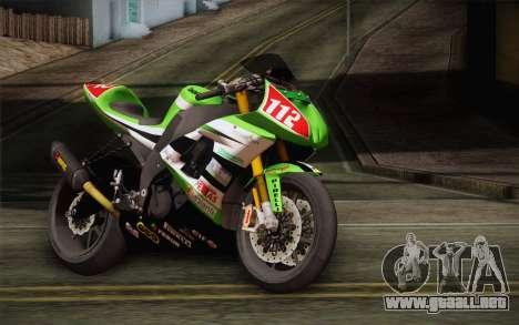 Kawasaki ZX-10R Ninja para GTA San Andreas