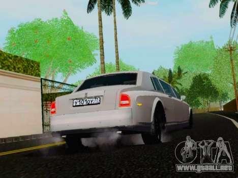 Rolls-Royce Phantom Limo para la visión correcta GTA San Andreas