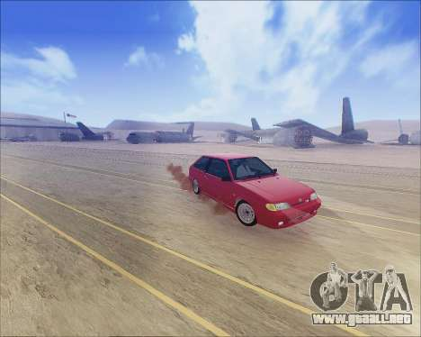 VAZ 2112 Sintonizable para GTA San Andreas left