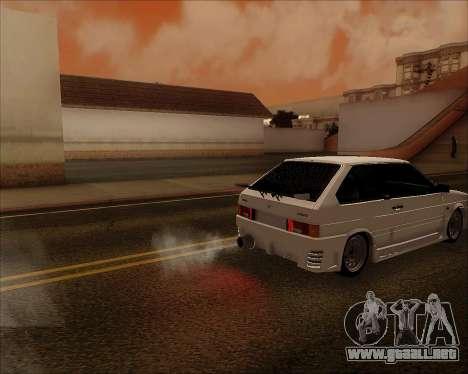VAZ 2112 Sintonizable para la vista superior GTA San Andreas