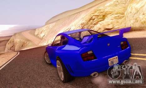 Pfister Comet V1.0 para visión interna GTA San Andreas