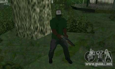 Nuevas características de las armas para GTA San Andreas tercera pantalla