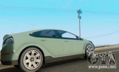 Cheval Surge V1.0 para GTA San Andreas vista hacia atrás