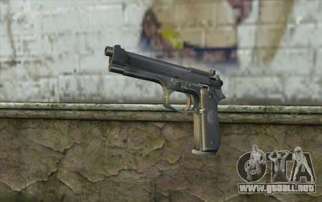 Police Beretta 92 para GTA San Andreas
