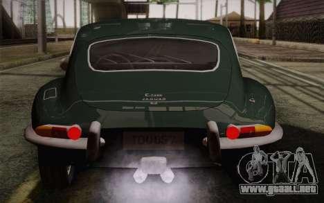 Jaguar E-Type 4.2 para el motor de GTA San Andreas
