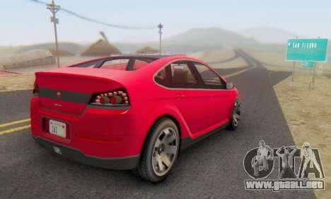 Cheval Surge V1.0 para GTA San Andreas left