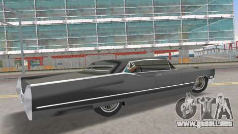 Cadillac DeVille 1967 Lowrider para GTA Vice City left