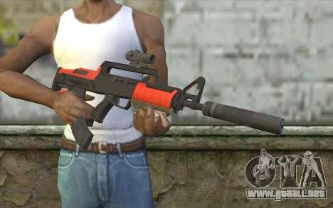 Fusil BullPup из GTA 5 para GTA San Andreas tercera pantalla