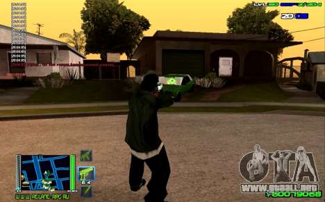 C-HUD Optimal para GTA San Andreas segunda pantalla