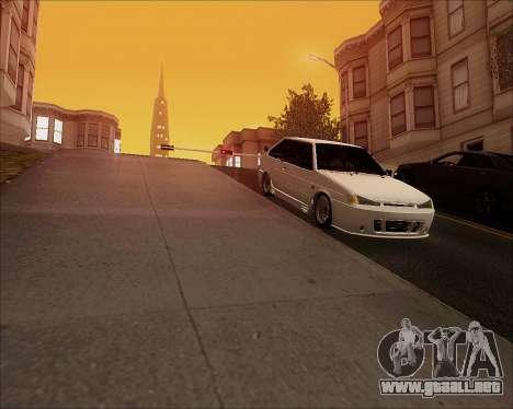 VAZ 2112 Sintonizable para GTA San Andreas vista hacia atrás