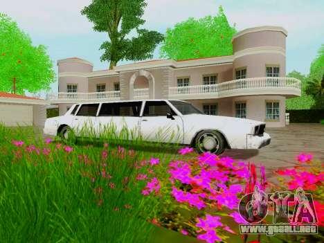 Tahoma Limousine para visión interna GTA San Andreas