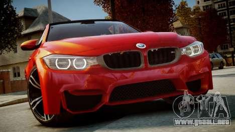 BMW M4 Coupe 2014 v1.0 para GTA 4
