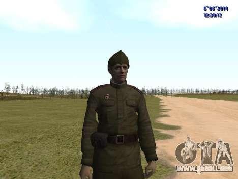 USSR Soldier Pack para GTA San Andreas séptima pantalla