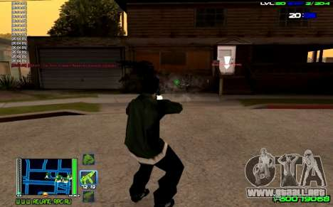 C-HUD Optimal para GTA San Andreas tercera pantalla
