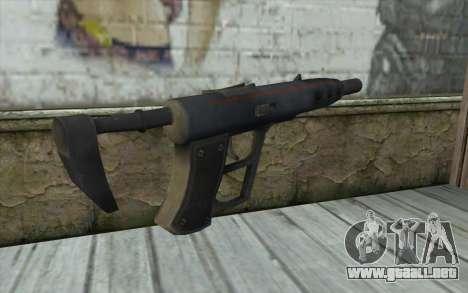 Sten 2041 SMG para GTA San Andreas segunda pantalla