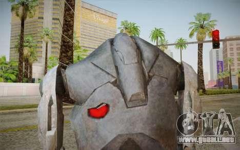 B2-Super Battle Droid skin para GTA San Andreas tercera pantalla