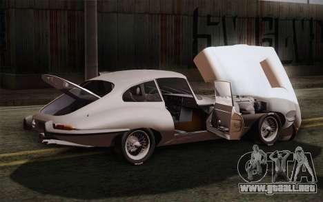 Jaguar E-Type 4.2 para la vista superior GTA San Andreas