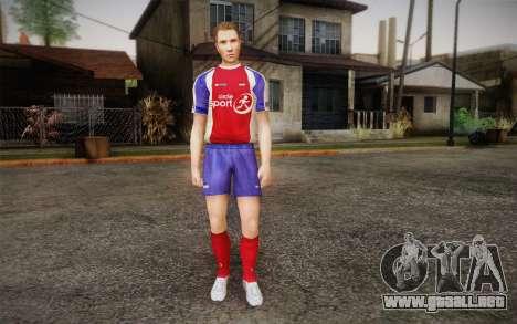 Futbolista para GTA San Andreas