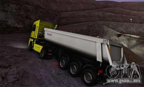 Schmied Bigcargo Solid Stock para la visión correcta GTA San Andreas
