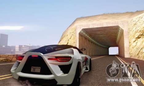 Bertone Mantide 2010 Rock Generation para visión interna GTA San Andreas