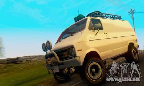 Dodge Tradesman Van 1976 para GTA San Andreas