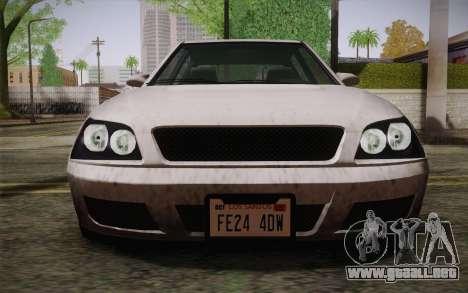 El sultán из GTA 5 para visión interna GTA San Andreas