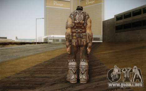 Marcus Fenix из Gears of War 3 para GTA San Andreas segunda pantalla