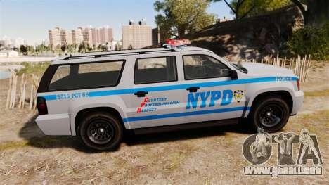 GTA V Declasse Granger NYPD para GTA 4 left