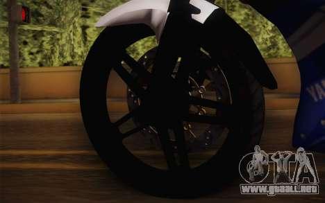 Yamaha YZF R15 para la visión correcta GTA San Andreas