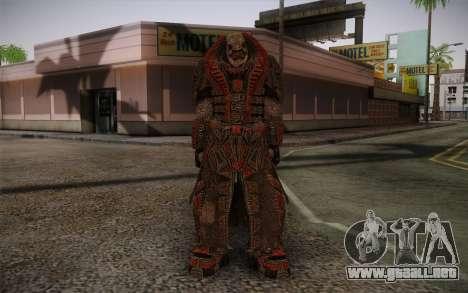 Theron Guard Cloth From Gears of War 3 v1 para GTA San Andreas
