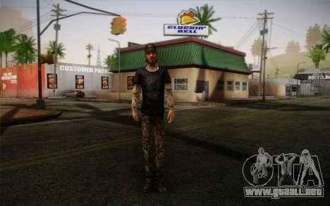 Nick из The Walking Dead para GTA San Andreas