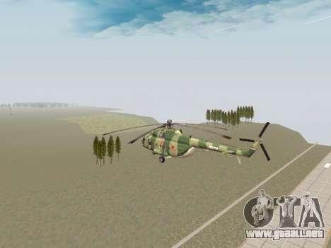 Mi-8T para la visión correcta GTA San Andreas