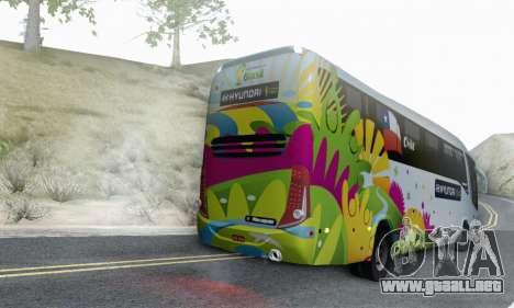Marcopolo Paradiso 1200 Brazil Fifa World Cup para la visión correcta GTA San Andreas