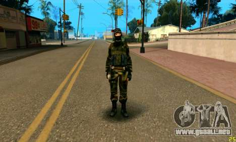 Fighter Alpha Contra El Terrorismo para GTA San Andreas