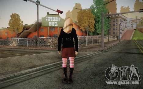 Avril Lavigne para GTA San Andreas segunda pantalla