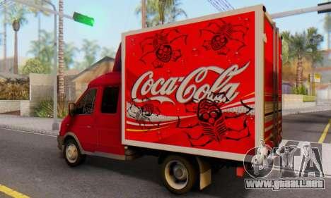 33023 Gacela De Coca-Cola para GTA San Andreas left