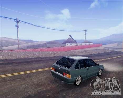 VAZ 2112 Sintonizable para la visión correcta GTA San Andreas