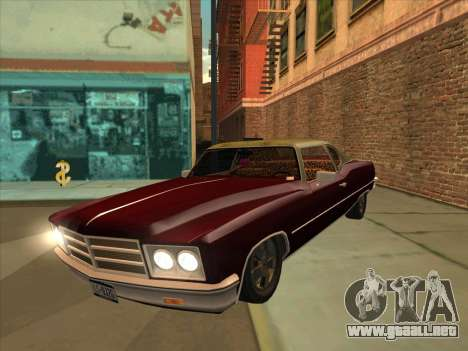 Yardie Lobo from GTA 3 para GTA San Andreas