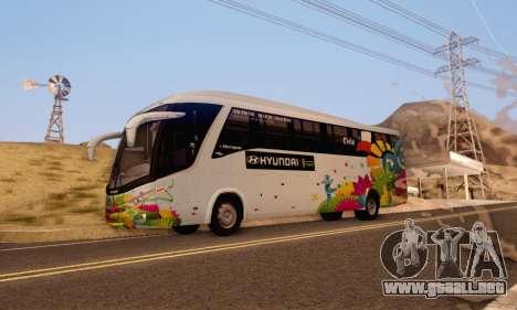 Marcopolo Paradiso 1200 Brazil Fifa World Cup para GTA San Andreas left