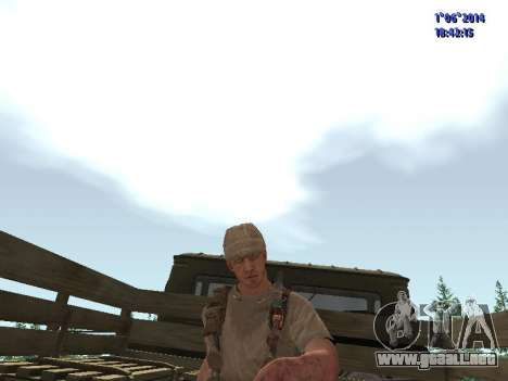 Afghanistan Soviet Soldiers para GTA San Andreas quinta pantalla