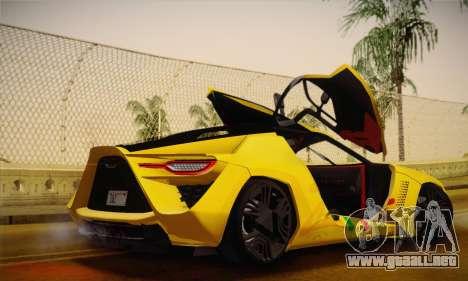 Bertone Mantide World Brasil 2010 para visión interna GTA San Andreas