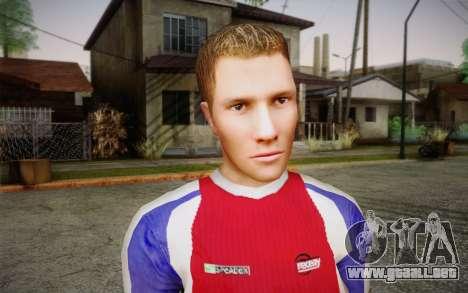Futbolista para GTA San Andreas tercera pantalla
