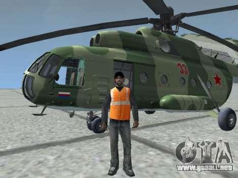Mi-8T para GTA San Andreas left